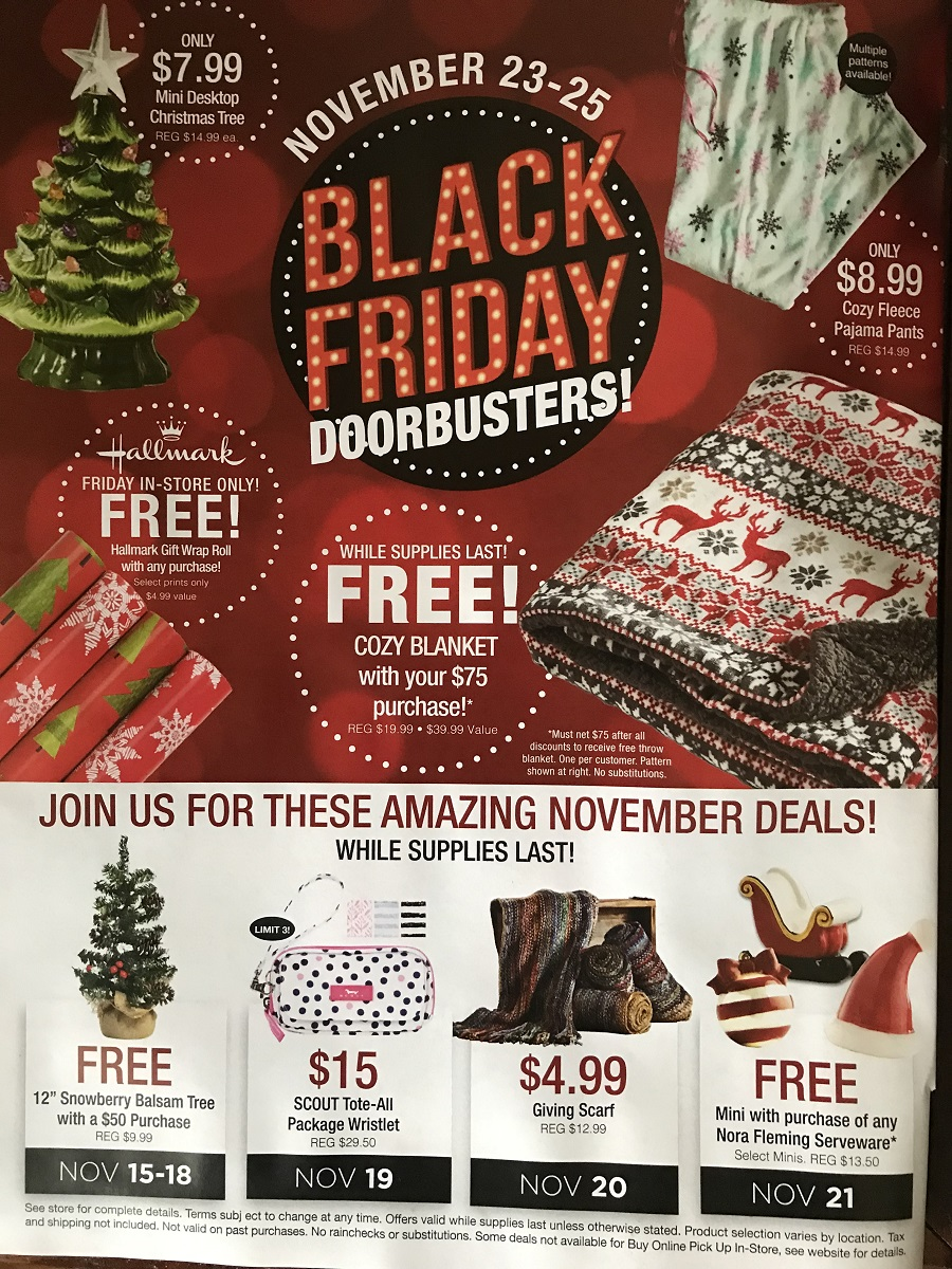 The Paper Store Black Friday page 1